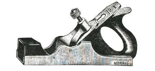 Norris No. A13 Malleable Iron Smoothing Plane