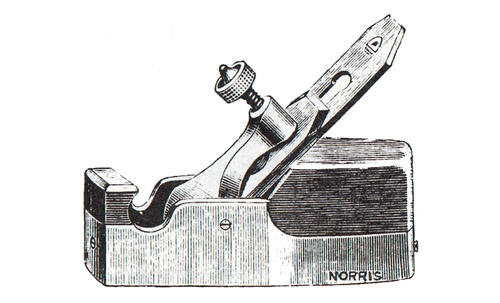 Norris No. 14GS Gunmetal Smoothing Plane
