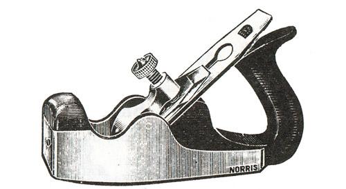 Norris No. 17 Improved Gunmetal Smoothing Plane
