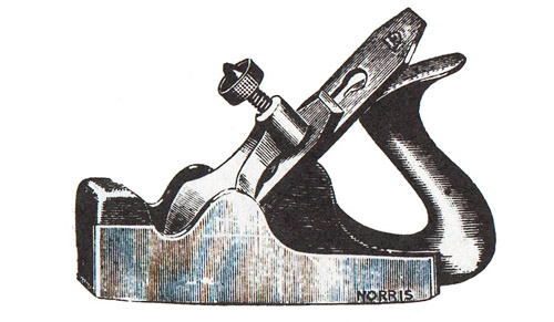 Norris No. 2 Dovetailed Steel Smoothing Plane