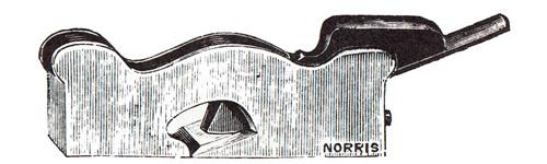 Norris No. 20 Gunmetal Shoulder Plane