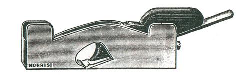 Norris No. 23 Gunmetal Shoulder Plane