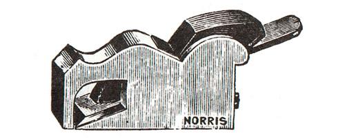 Norris No. 25 Malleable Iron Bullnose Plane