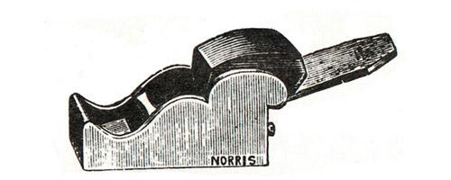 Norris No. 29 Gunmetal Chariot Plane