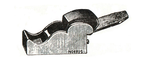Norris No. 30 Gunmetal Chariot Plane