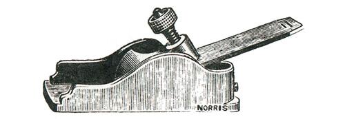 Norris No. 31 Malleable Iron Thumb Plane