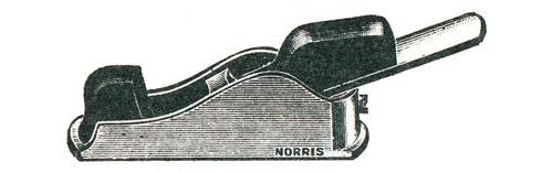 Norris No. 32 Malleable Iron Thumb Plane
