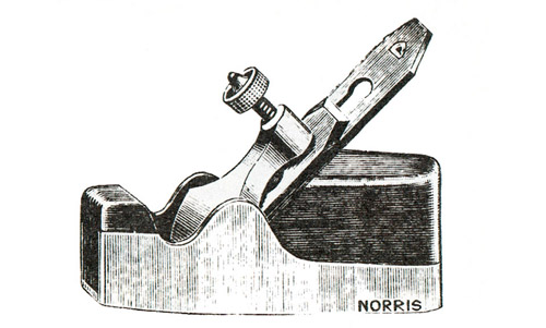 Norris No. 4 Dovetailed Steel Smoothing Plane