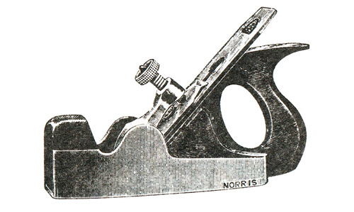 Norris No. 5 Dovetailed Steel Smoothing Plane