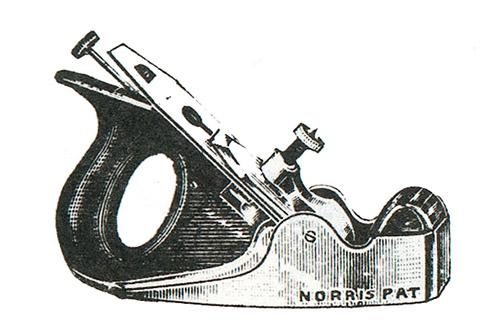 Norris No. 50GS Gunmetal Smoothing Plane