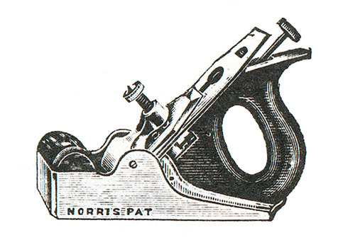 Norris No. 51GS Gunmetal Smoothing Plane