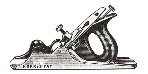 Norris No. 53M Malleable Iron Bench Plane