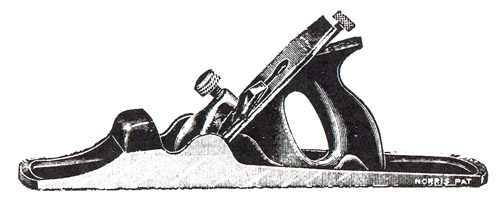 Norris No. 54 Annealed Iron Bench Plane