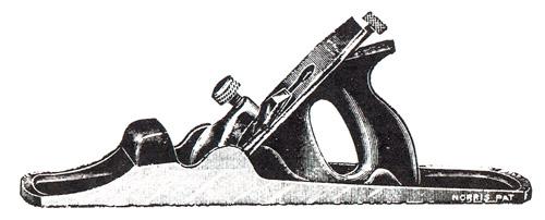 Norris No. 54GS Gunmetal Bench Plane