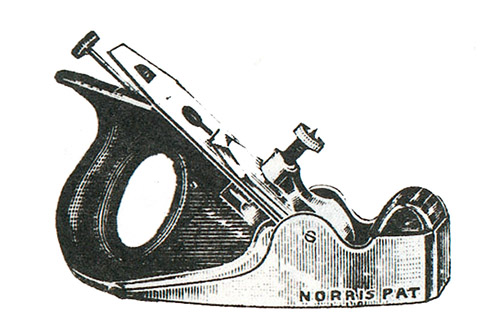 Norris No. 60 Annealed Iron Smoothing Plane