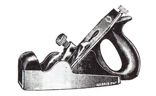 Norris No. A17 Improved Gunmetal Smoothing Plane