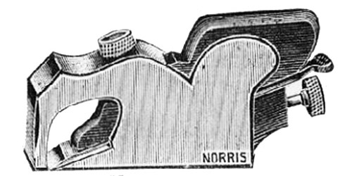 Norris No. A25 Malleable Iron Bullnose Plane